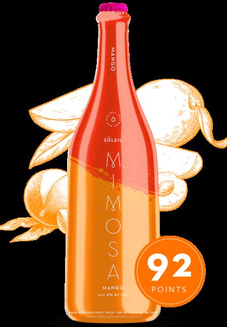 Soleil Mimosa Mango pre-mixed mimosa