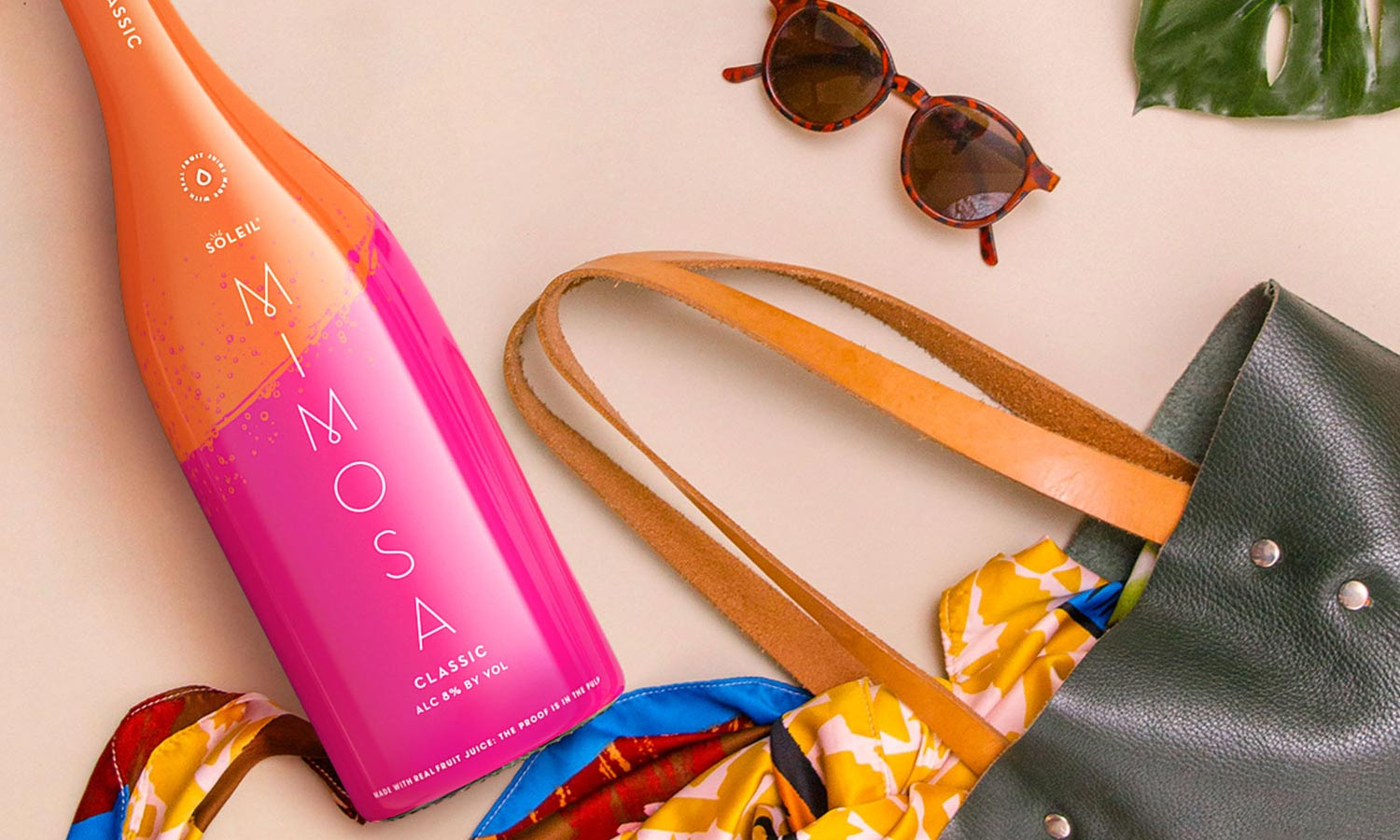 Soleil Mimosa Classic in bag